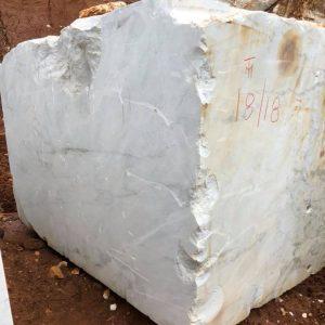 White marble dolomite
